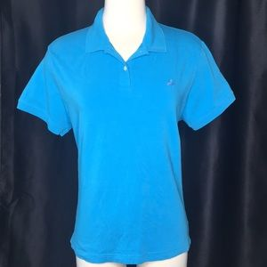 Lilly Pulitzer Turquoise Classic Fit Polo Shirt
